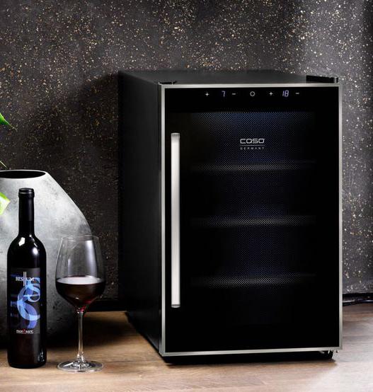 винный холодильник СASO цена