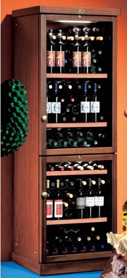 винные деревянные холодильники купить