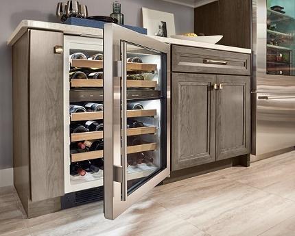 Двухзонные винные холодильники купить