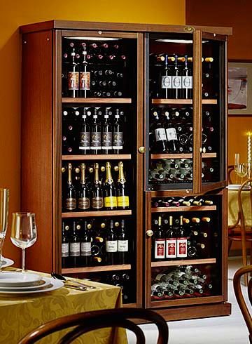 деревянные винные холодильники купить
